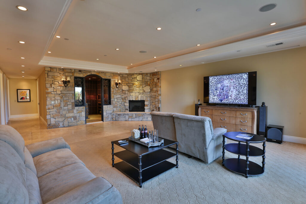 Media Room Wine Cellar