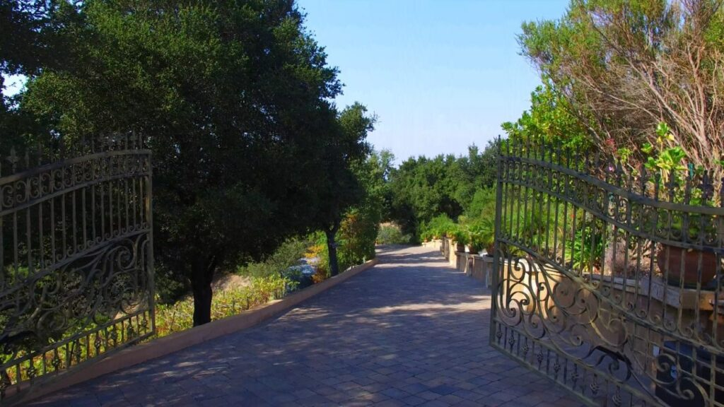 Driveway to Mansion